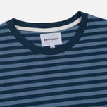 Мужской лонгслив Norse Projects Svali Military Stripe Boundary Blue/Margi фото- 1