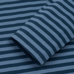 Мужской лонгслив Norse Projects Svali Military Stripe Boundary Blue/Margi фото- 2