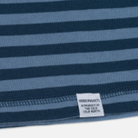 Мужской лонгслив Norse Projects Svali Military Stripe Boundary Blue/Margi фото- 3