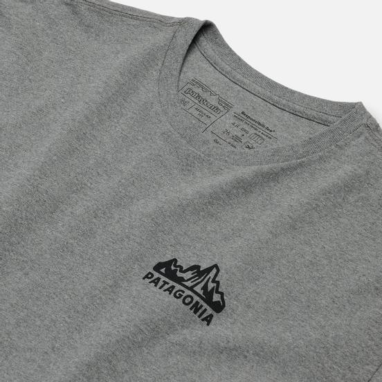 Мужской лонгслив Patagonia Fitz Roy Horizons Logo Gravel Heather