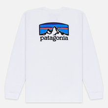 Мужской лонгслив Patagonia Fitz Roy Horizons White фото- 3