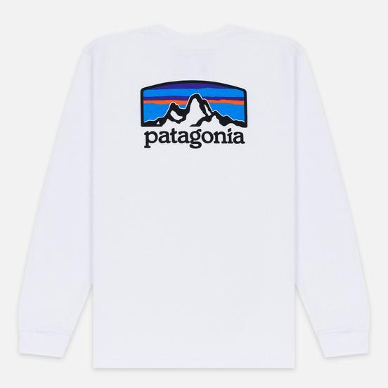 Мужской лонгслив Patagonia Fitz Roy Horizons White