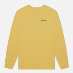 Мужской лонгслив Patagonia LS P-6 Logo Surfboard Yellow