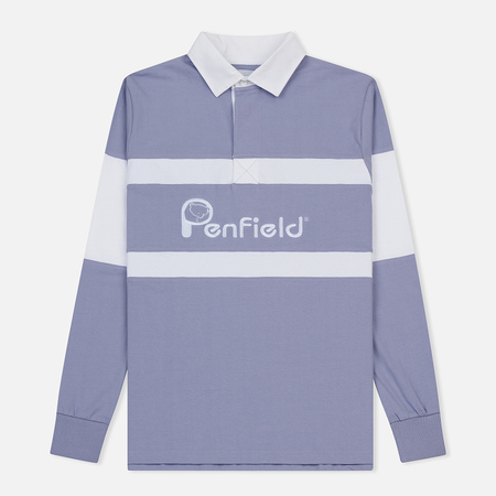 Мужской лонгслив Penfield Cass Rugby Persian Violet