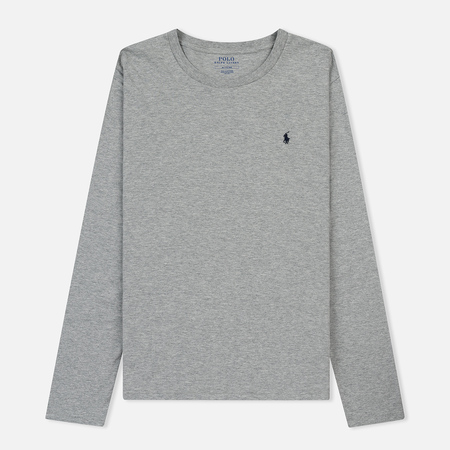 Мужской лонгслив Polo Ralph Lauren Crew Neck Liquid Cotton Andover Heather