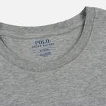 Мужской лонгслив Polo Ralph Lauren Crew Neck Liquid Cotton Andover Heather фото- 1