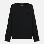 Мужской лонгслив Polo Ralph Lauren Crew Neck Liquid Cotton Black фото- 0