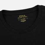 Мужской лонгслив Polo Ralph Lauren Crew Neck Liquid Cotton Black фото- 1