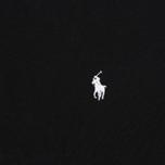 Мужской лонгслив Polo Ralph Lauren Crew Neck Liquid Cotton Black фото- 2