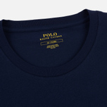 Мужской лонгслив Polo Ralph Lauren Crew Neck Liquid Cotton Cruise Navy фото- 1