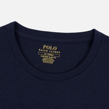 Мужской лонгслив Polo Ralph Lauren Custom Fit Embroidered Pony Ink фото- 1