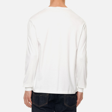 Мужской лонгслив Polo Ralph Lauren Custom Slim Fit Interlock White фото- 0