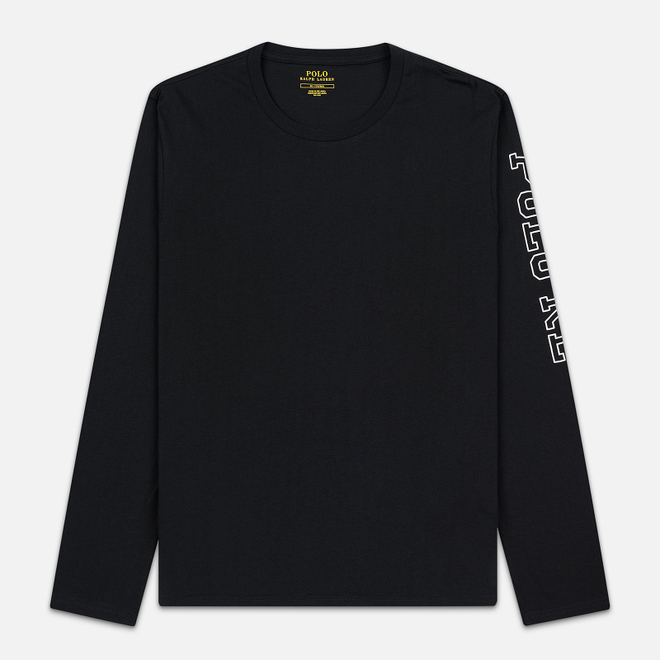 Мужской лонгслив Polo Ralph Lauren Liquid Cotton Crew Sleep Top Black