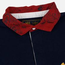 Мужской лонгслив Polo Ralph Lauren Skull And Crossbones Emblem Rugby Cruise Navy фото- 1