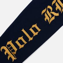 Мужской лонгслив Polo Ralph Lauren Skull And Crossbones Emblem Rugby Cruise Navy фото- 4