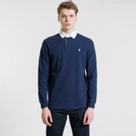 Мужской лонгслив Polo Ralph Lauren The Iconic Rugby Newport Navy фото- 1