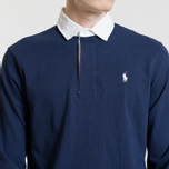 Мужской лонгслив Polo Ralph Lauren The Iconic Rugby Newport Navy фото- 2