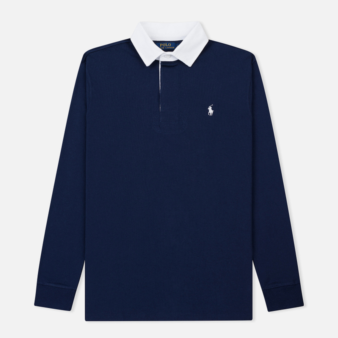 Мужской лонгслив Polo Ralph Lauren The Iconic Rugby Newport Navy