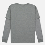 Мужской лонгслив Reebok x Beams Layered LS Medium Grey Heather фото- 2