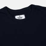 Reigning Champ Ringspun LS Crewneck Men's Longsleeve Navy photo- 1