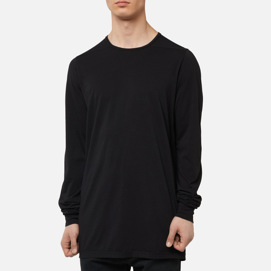 Мужской лонгслив Rick Owens DRKSHDW Tecuatl Level Black