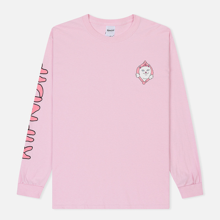 Мужской лонгслив RIPNDIP Found It Light Pink