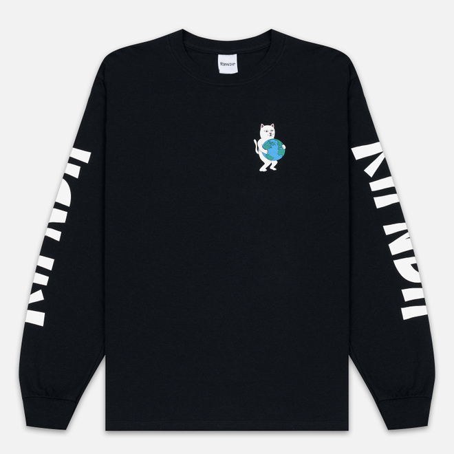 Мужской лонгслив RIPNDIP Fuck Everything Black