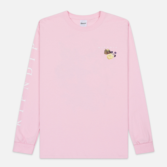 Мужской лонгслив RIPNDIP Heavinly Bodies Pink