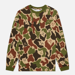 Мужской лонгслив RIPNDIP Lord Nermal Pocket Army Camo