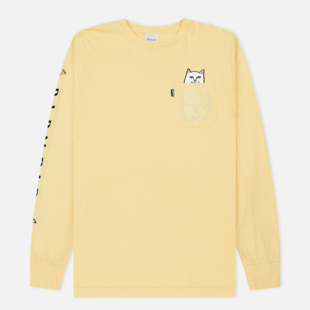 Мужской лонгслив RIPNDIP Lord Nermal Pocket Banana