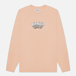 Мужской лонгслив RIPNDIP Mind Blown Peach