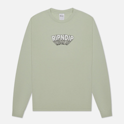 Мужской лонгслив RIPNDIP Mind Blown Sage
