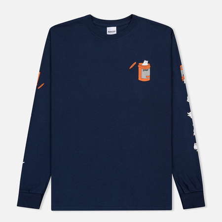 Мужской лонгслив RIPNDIP Nermal Pills Navy