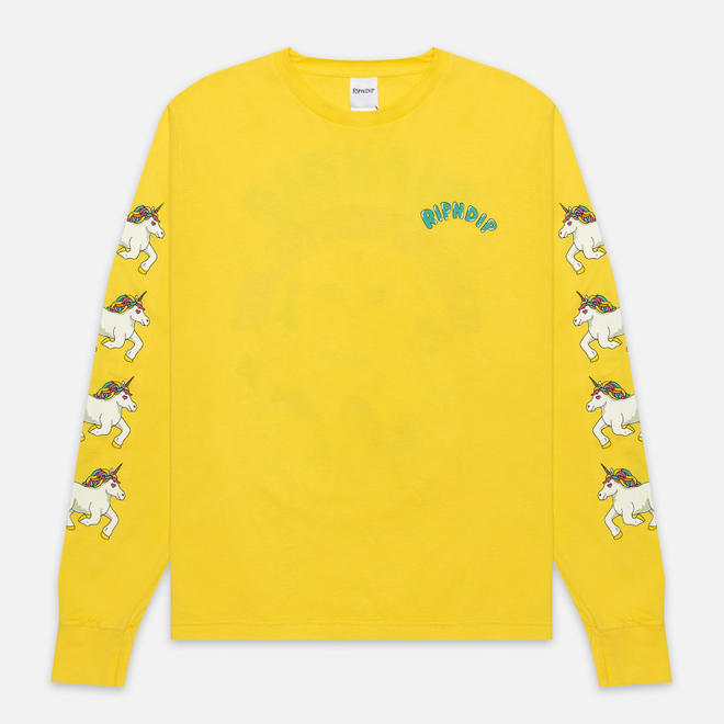 Мужской лонгслив RIPNDIP Nermland Yellow