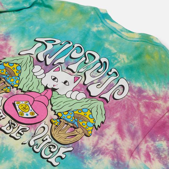 Мужской лонгслив RIPNDIP One More Tab Multicolor Dye Wash