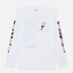 Мужской лонгслив RIPNDIP Beautiful Mountain White