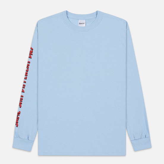 Мужской лонгслив RIPNDIP Same Dreams Light Blue