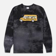 Мужской лонгслив RIPNDIP School Bus Black Lightning Wash фото- 0