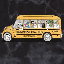 Мужской лонгслив RIPNDIP School Bus Black Lightning Wash фото- 2