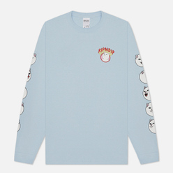 Мужской лонгслив RIPNDIP Spirited Away Baby Blue