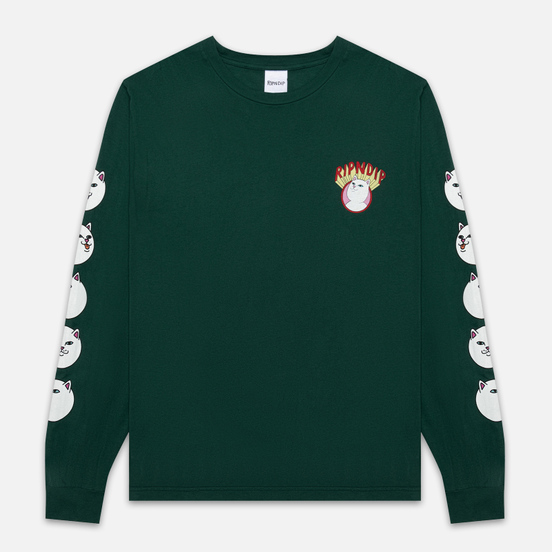 Мужской лонгслив RIPNDIP Spirited Away Hunter Green