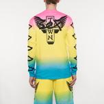 Мужской лонгслив Sex skateboards x Dogtown Front & Arm & Large Back Print Multicolor фото- 6