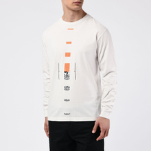 Мужской лонгслив Stone Island 7215 Graphic Nine Ivory фото- 4