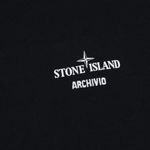 Мужской лонгслив Stone Island Archivio Project Poly Felt Black фото- 2