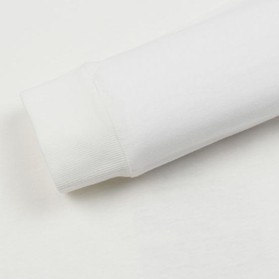 Мужской лонгслив Stone Island Archivio Project Poly Felt Natural White