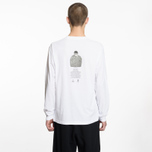 Мужской лонгслив Stone Island Archivio Project Poly Felt White фото- 6