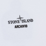 Мужской лонгслив Stone Island Archivio Project Poly Felt White фото- 2
