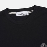 Мужской лонгслив Stone Island Check Grid LS Black фото- 1