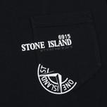 Мужской лонгслив Stone Island Industrial 4 Black фото- 2