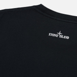 Мужской лонгслив Stone Island Industrial 4 Black фото- 4